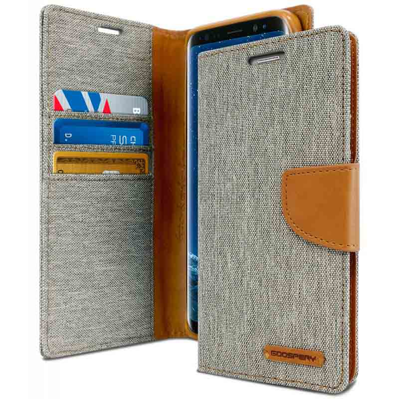 mobiletech-samsung-j6-plus-goospery-canvas-wallet-Grey